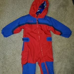 Columbia 3T fleece lined snow suit